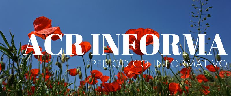 ACR INFORMA - PERIODICO MENSILE MESE DI GIUGNO
